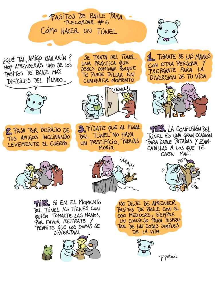 MEDIOCRE PASITOS TUNEL COMPLETO